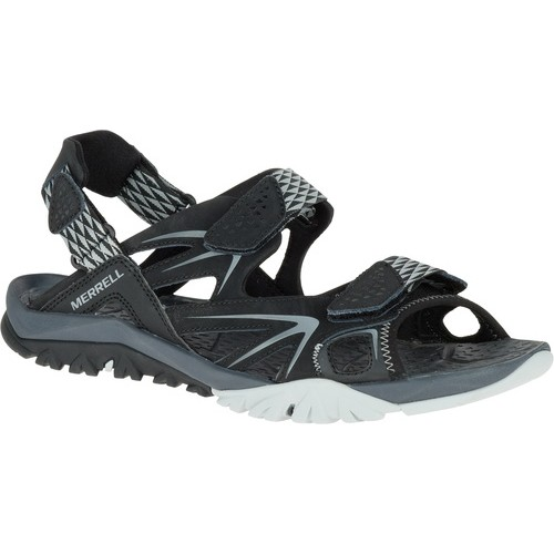 Capra Rapid Sandal, Black