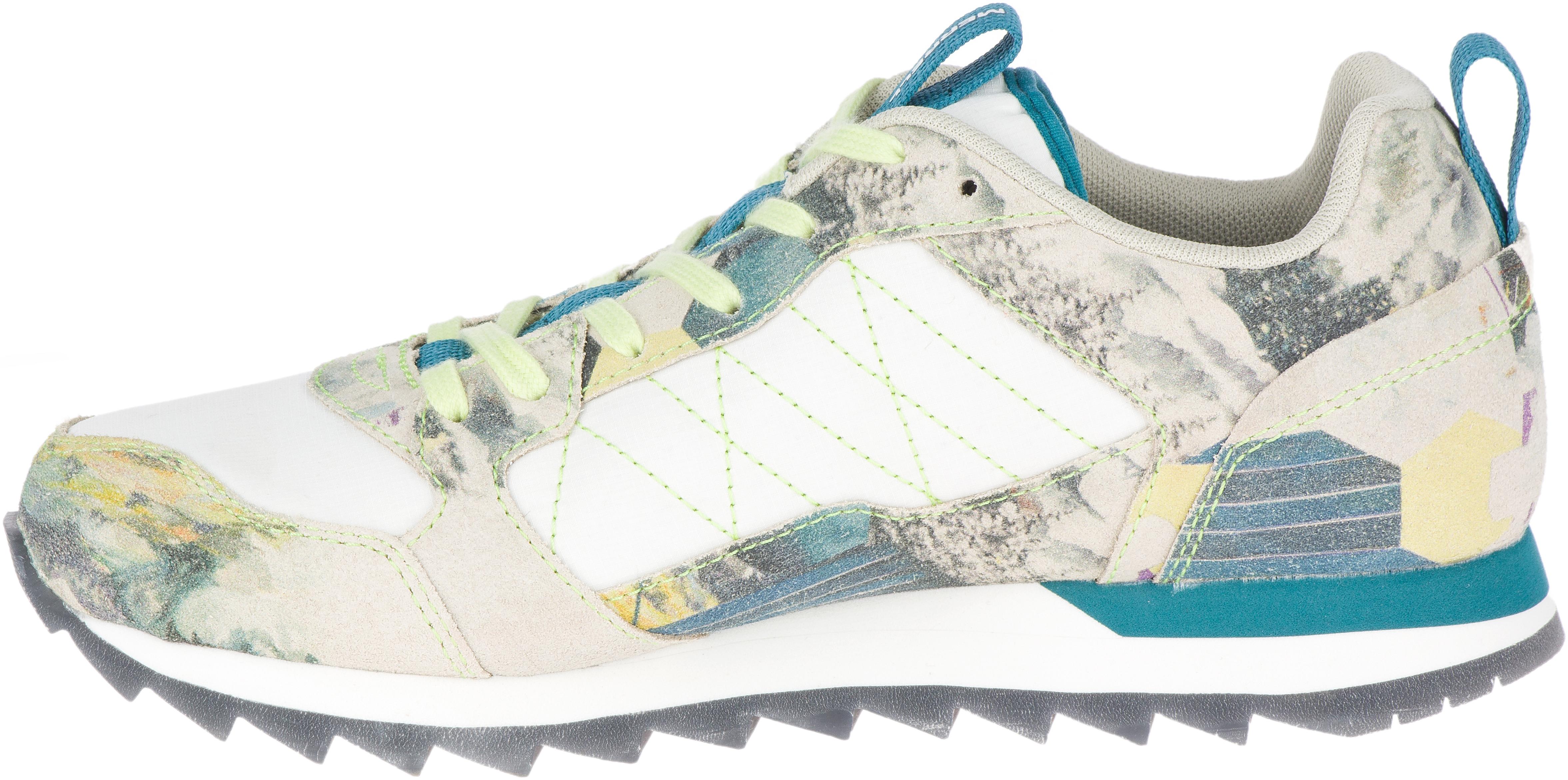 Alpine Sneaker, White/Print