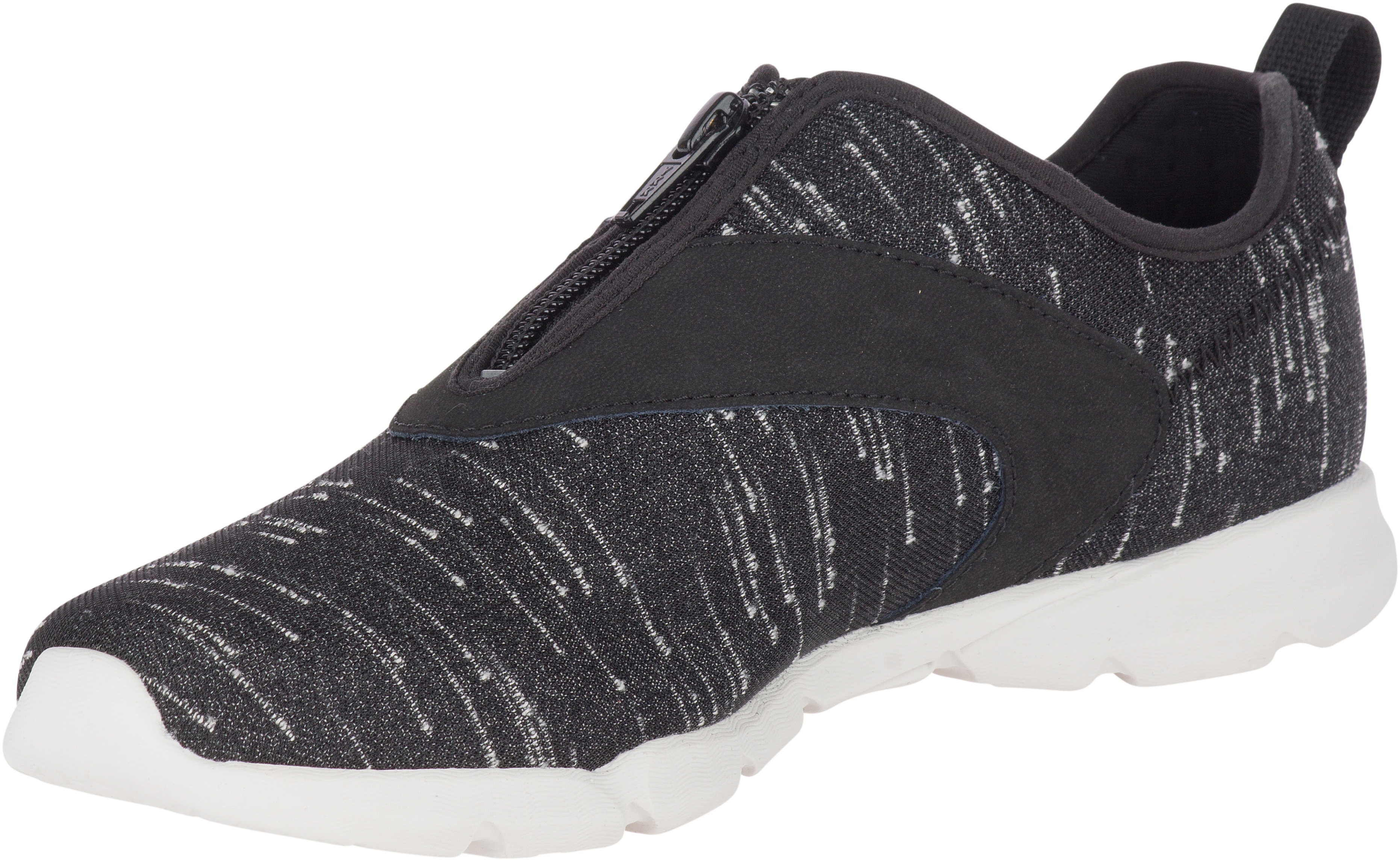 Flora Day Zip, Black
