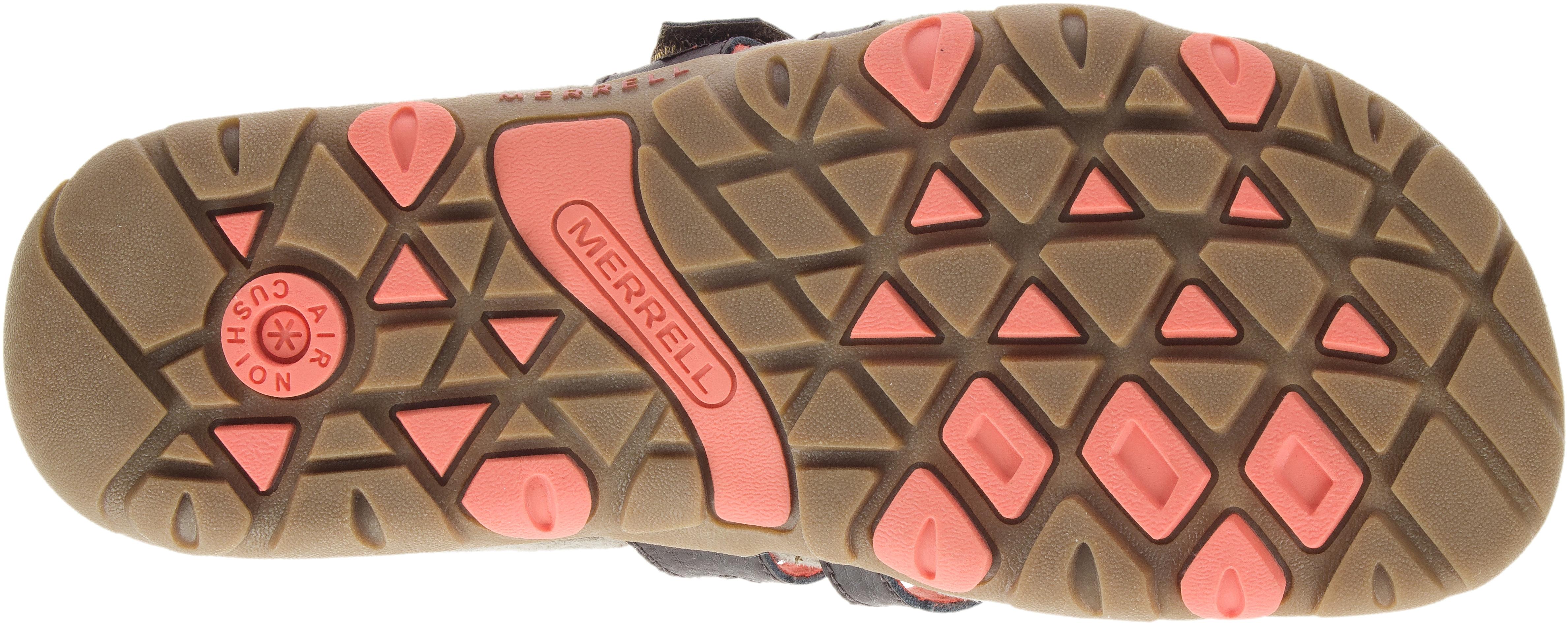 Sandspur Rose Slide, Espresso-Coral