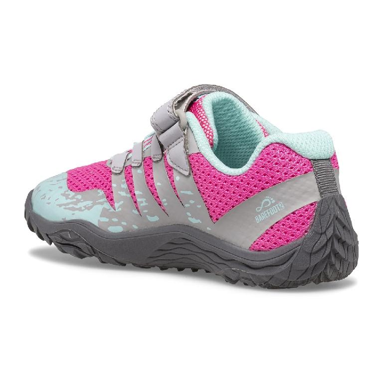 Trail Glove 5 A/C, Grey-Hot Pink