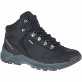 Erie Mid Leather WP, Black